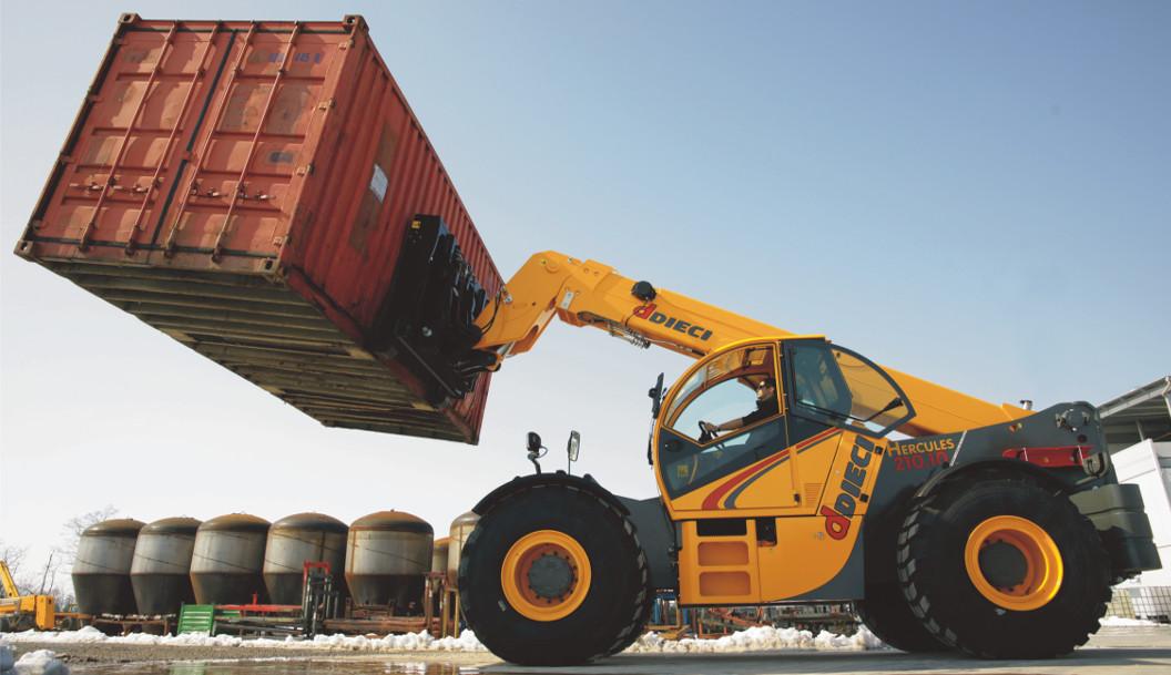 container lift telehandler